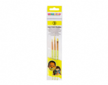 Snazaroo Pack of 3 Face Paint Brushes